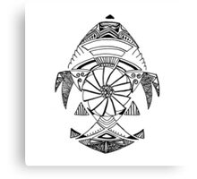 Mechanical Fish Canvas Print