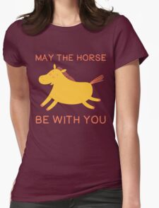 May The Horse Be With You - Cute Horse Lover T Shirt T-Shirt