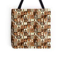 """I'm """"A"""" Pattern two (orange) Tote Bag"""