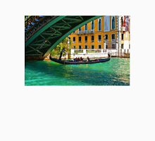 Impressions of Venice - Ponte dell Accademia Turquoise  Unisex T-Shirt