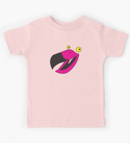 Beaker pink bird  Kids Tee