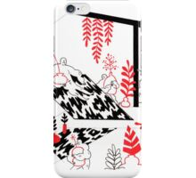 Red manor iPhone Case/Skin