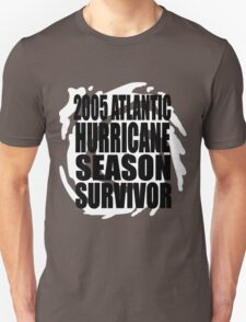 2005 Hurricane Season Survivor T-Shirt