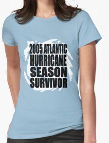 2005 Hurricane Season Survivor Womens Fitted T-Shirt
