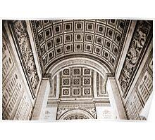 Beneath the Arc de Triomphe Poster
