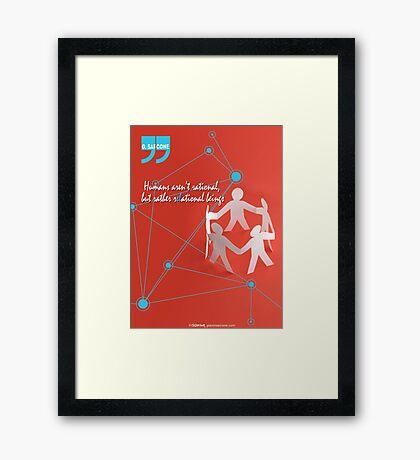 R-EL-ATIONAL Framed Print
