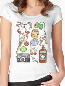 Vintage Collection Women's Fitted Scoop T-Shirt