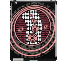 1980's Retro Cropcircle iPad Case/Skin
