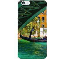 Impressions of Venice - Ponte dell Accademia Turquoise  iPhone Case/Skin