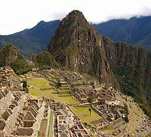 Inca's Wisdom, Machu Picchu, Peru by Michiko Lawrence