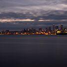 Seattle Sunrise 11/11/10 by DiamondCactus