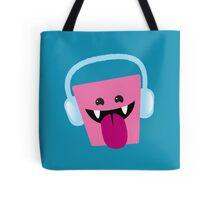 Funny crazy kawaii deejay Tote Bag