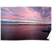 Puget Sound Sunrise Poster