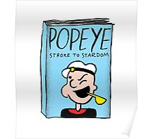 Popeye's Autobiography Poster