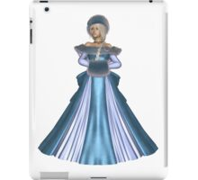 Winter Princess in Blue iPad Case/Skin