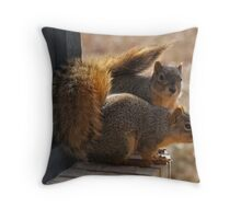 Troublemakers Throw Pillow