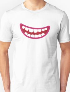 A toothy smile grin Unisex T-Shirt