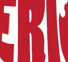 'Merica Design (America) Sticker