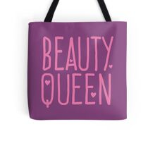 Beauty Queen with cute little hearts Tote Bag