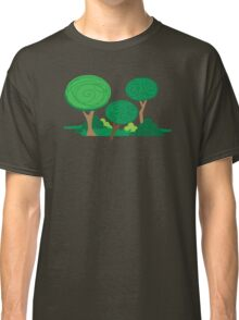 All curly trees Classic T-Shirt