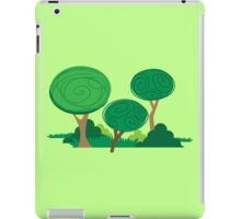 All curly trees iPad Case/Skin