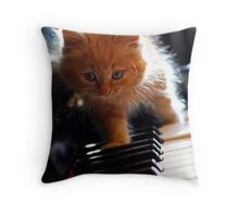 Tommy Fudge Piano Adventure Throw Pillow