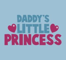 Daddy's little princess hearts Kids Tee