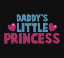 Daddy's little princess hearts Kids Tee