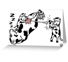 What A Cow. Greeting Card