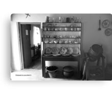 Quiet Rooms - Cottage Interior County Donegal. Metal Print