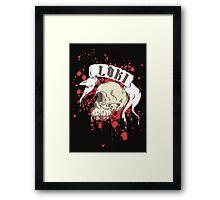 Loki Skull Framed Print