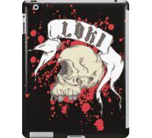 Loki Skull iPad Case/Skin