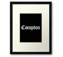 Compton Framed Print