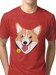 Mr Corgiworgi Tri-blend T-Shirt