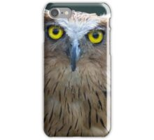 The Intense Yellow-eyed Stare iPhone Case/Skin