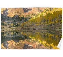 Aspen reflections Poster