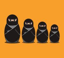 four my ninjas by Jack Burton