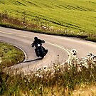 21.8.2015: Motorcycle on the Road by Petri Volanen