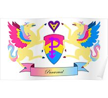 Pansexual Crest Poster