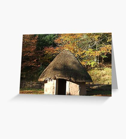 round house Greeting Card