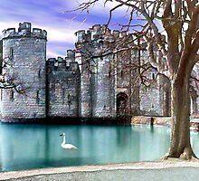 Bodium Castle by Kurt  Van Wagner