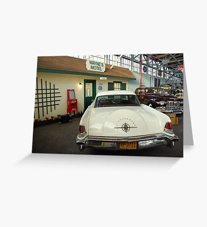 Classic Lincoln Continental Greeting Card