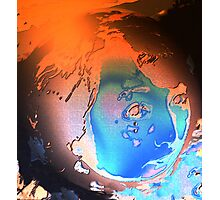 GLOBAL WARMING NIGHT-MARE Photographic Print