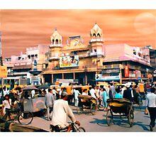 Old Delhi  Photographic Print