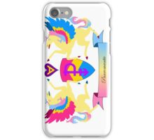 Panromantic Crest iPhone Case/Skin