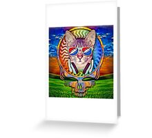 Groovy Cat Greeting Card
