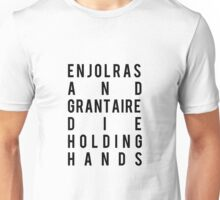 Enjolras and Grantaire Unisex T-Shirt