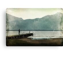 Enjoy the silence Canvas Print