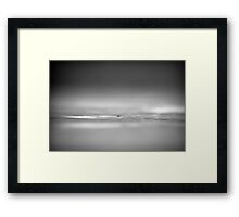 This big world we live in Framed Print