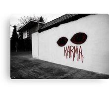 Karma Watches Canvas Print